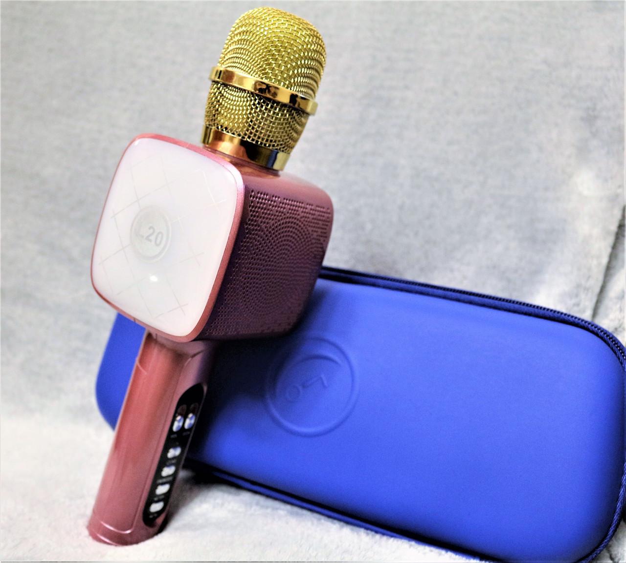 Беспроводной Bluetooth микрофон для караоке  L20 4Вт
