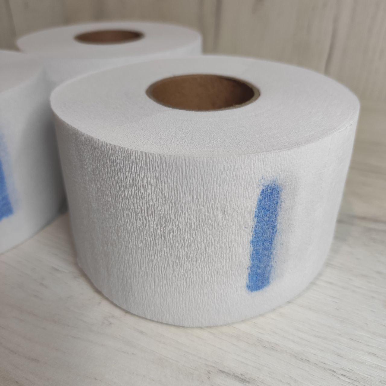 Воротничок для парикмахеров эластичный бумажный, 100 шт