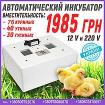 Автоматический инкубатор на 12 и 220 Вольт