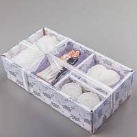 Набор свадебных свечей с Фигуркой для торта, 028Q