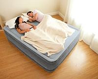 Надувная двухспальная кровать со встроенным электронасосом Intex 67770 (203х152х33см)