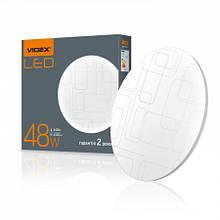 Світильник LED 48W 4100K  круглий прямокутники 298399 VIDEX