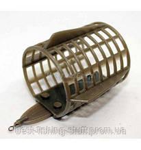 Кормушка Фидерная закормочная 45*56 мм Orange Carp
