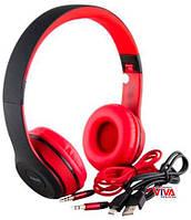 Беспроводная Bluetooth гарнитура HAVIT H2575BT Black / Red, фото 1