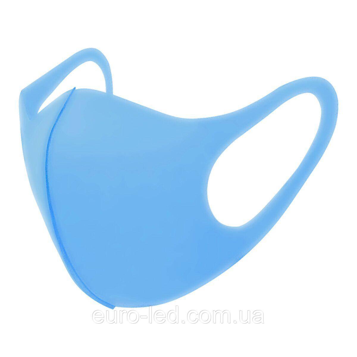 Защитная маска Pitta Ocean PA-O, размер: взрослый, голубой