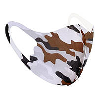 Защитная маска Pitta Military PС-MB, размер:детский, military, коричневый