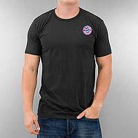 Черная футбольная футболка в стиле FC Bayern Munich   Бавария Мюнхен