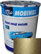 """650 Автоэмаль базовая """"металлик"""" Helios Mobihel """"Совиньон"""", 1л"""