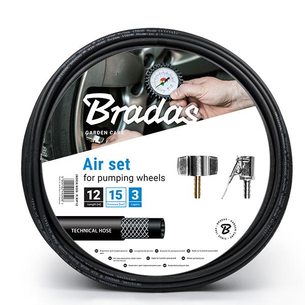 Комплект для подкачки шин, 8м, P/KP08 BRADAS