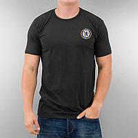 Черная футбольная футболка в стиле Chelsea   челси лого