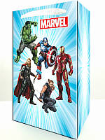 Пакет паперовий Супергерої/Месники/Марвел 21х12х6см-