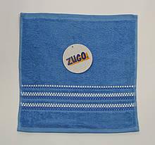 Полотенце 30х30 Zugo синее