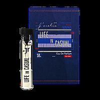 Пробник парфумованої води для чоловіків Life in casual