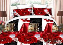 1,5-Спальный комплект постельного белья Полисатин 3D PS-NZ1943