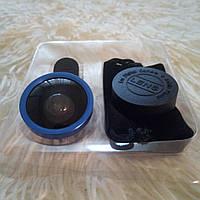 Смарт-Линза Selfie Cam Lens. Объектив прищепка. Линза для мобильного.