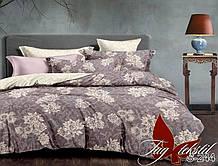 2-Спальный комлект постельного белья Сатин Люкс с компаньоном S244