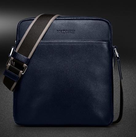 Мужская кожаная сумка. Модель 61338