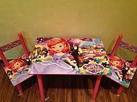 Детский столик со стульчиками Sofia