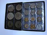 Альбом Marcia для монет разных размеров. 108 ячеек.  Польша, фото 5