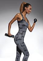 Женский костюм для фитнеса Bas Bleu Intense M Серый (bb0129)