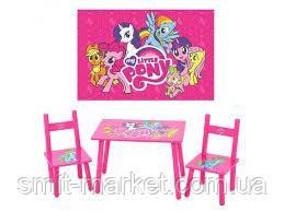 Детский деревянный столик My Little Pony