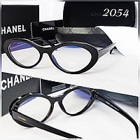 Компьютерные очки Chanel овалы узкие