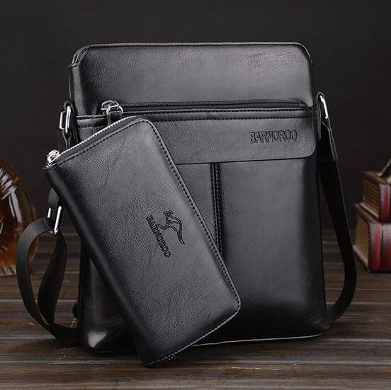 Мужская кожаная сумка. Модель 63152