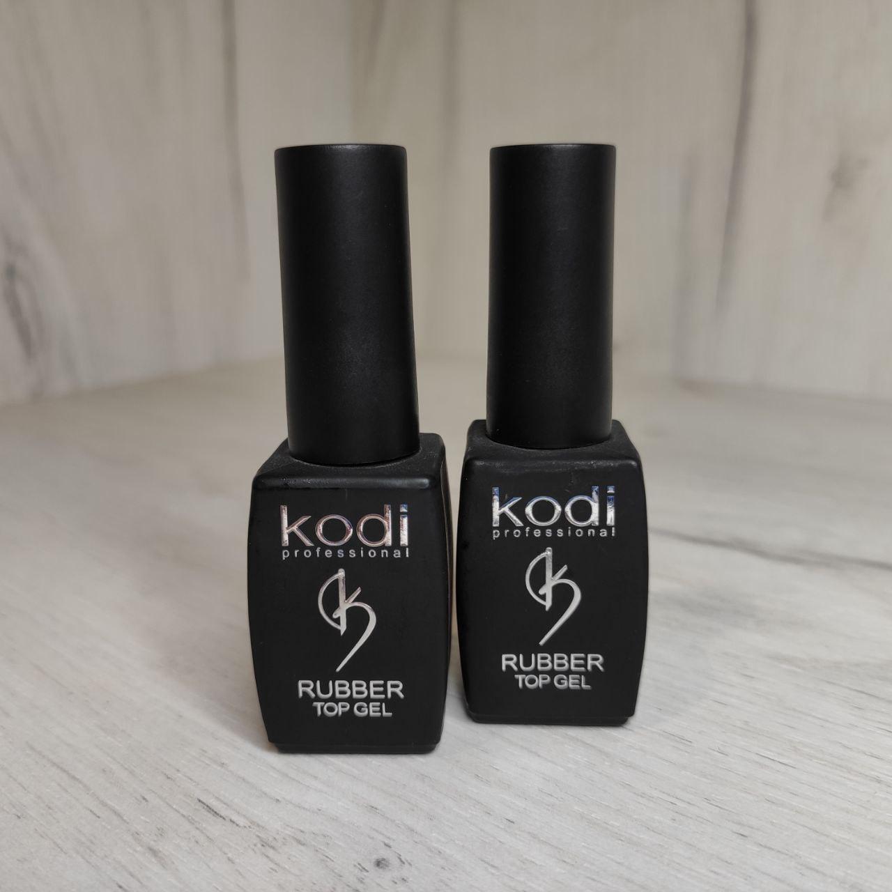 Финишное покрытие Kodi Professional Rubber Top Gel 12 ml