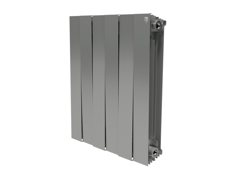 Радиатор Royal Thermo PianoForte 500/Silver Satin - 8 секций