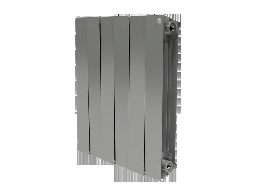 Радиатор Royal Thermo PianoForte 500/Silver Satin - 6 секций
