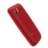 """Кнопочный телефон бабушкофон с большим экраном и камерой Nomi i281+ Red 2,8"""" АКБ 1400 мА*ч, фото 5"""
