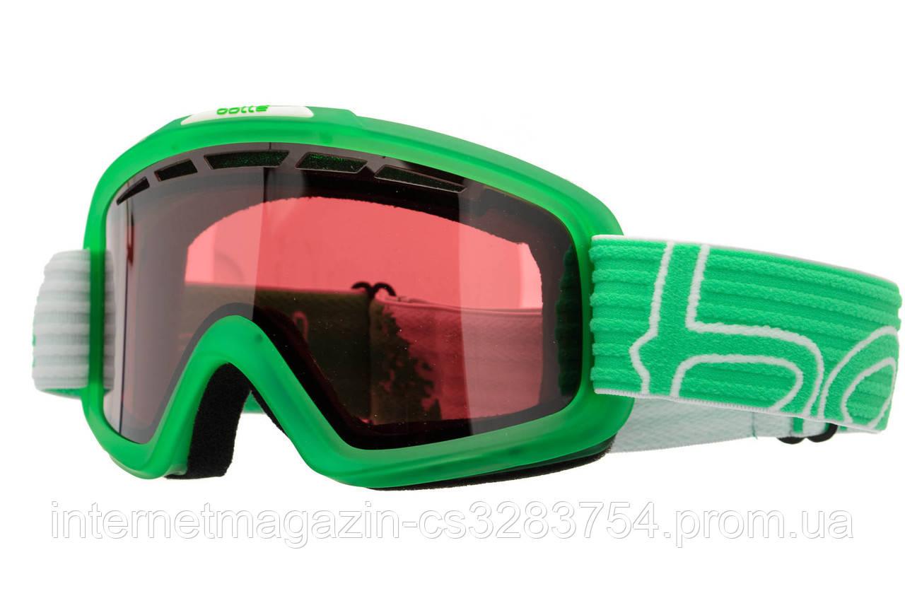 Маска гірськолижна BOLLE Nova II matt green-white vermillion Green (21545)