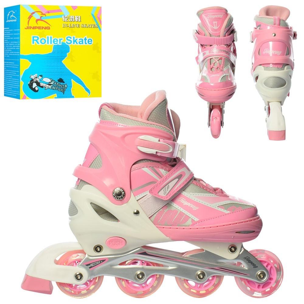 Дитячі роликові ковзани Profi Rider 17116-5-L 39-42 Рожевий