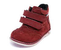 Ботинки д/с Comfort shoes 074(21-25)бордо 21