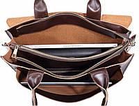 Мужская кожаная сумка. Модель 61341, фото 10