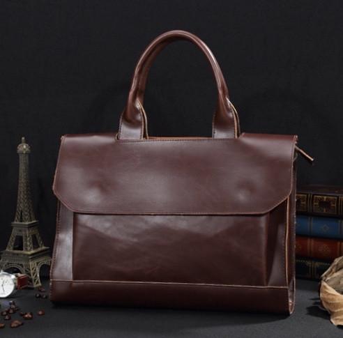 Мужская кожаная сумка. Модель 61341