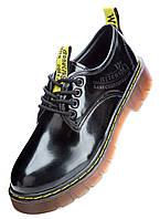 Туфлі жіночі LORETTA штучна шкіра, лак, гума, полівінілхлорид чорні