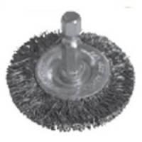 Щетка дисковая S&R, стальная витая проволока 50