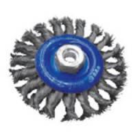 Щетка дисковая S&R, стальная плетенная проволока 150