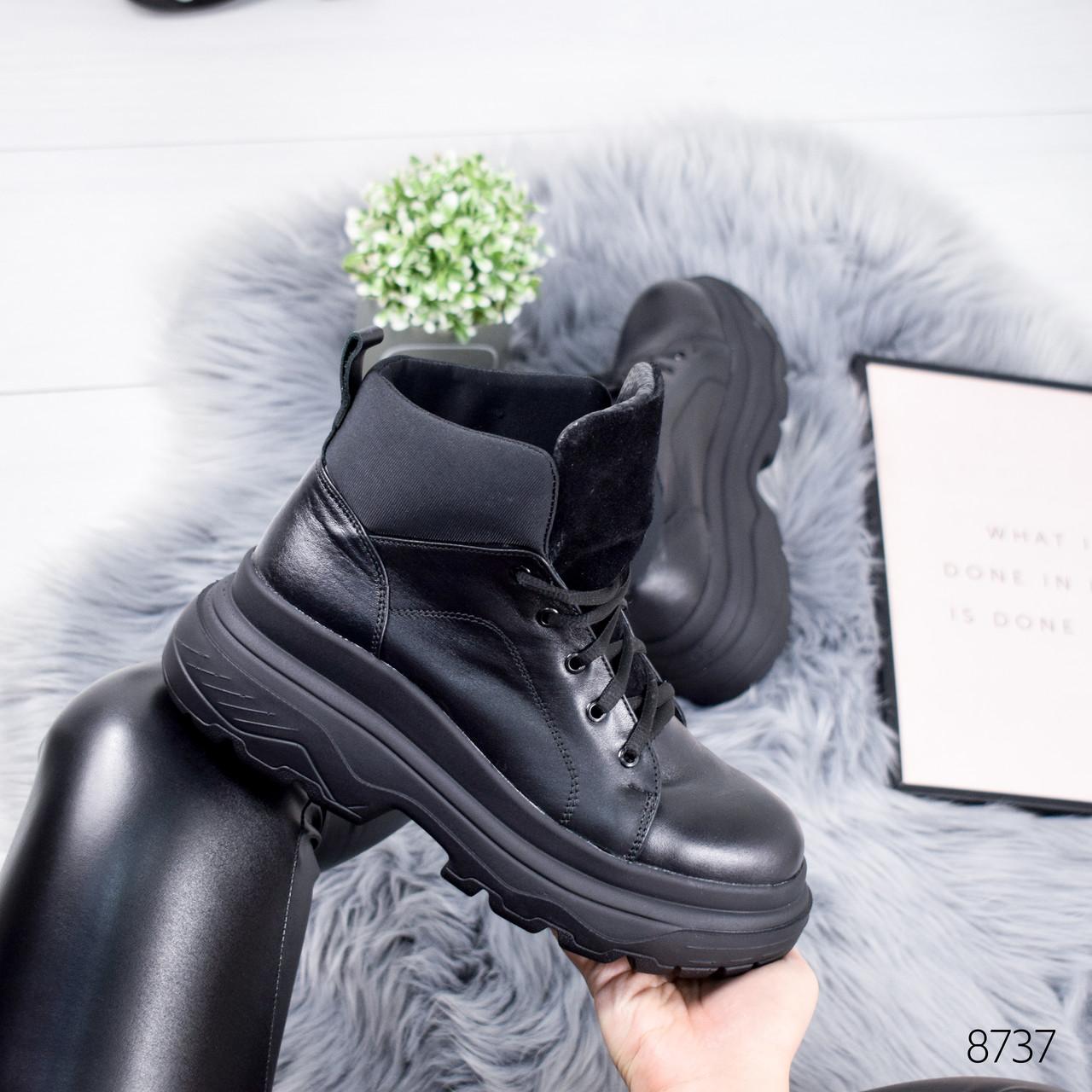 Ботинки женски Tadeo черный  8737