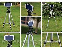 Компактный штатив трипод тренога для экшен камер   смартфонов   фотоаппарата   3110A, фото 2