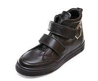 Ботинки д/с Minibel 345 PP 2липучки черные (31-36) 33