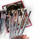 Набор кистей для макияжа из 10 инструментов Maxmar MB-289, фото 2