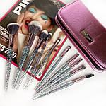 Набор кистей для макияжа из 10 инструментов Maxmar MB-289, фото 5