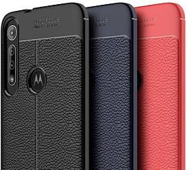 Резиновый бампер Motorola One Macro под кожу Autofocus (Моторола Ван Макро)