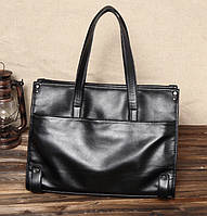 Мужская кожаная сумка. Модель 61346, фото 3