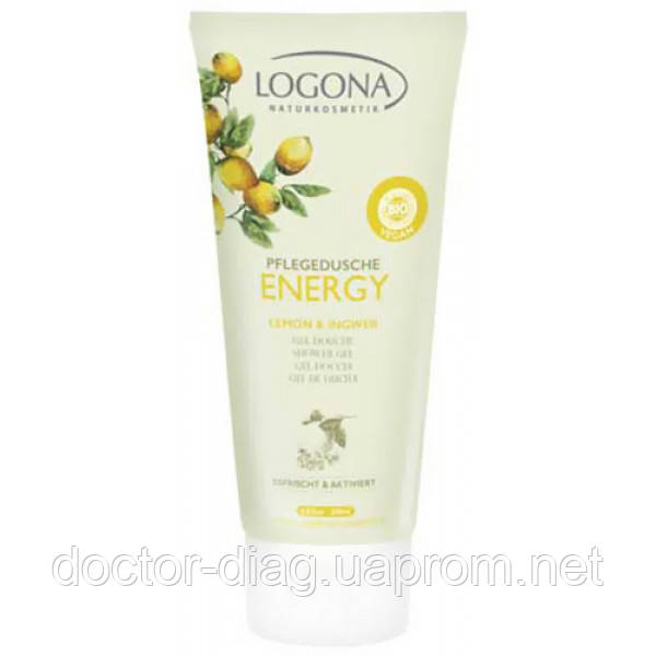 Logona Logona БИО-Гель для душа ENERGY Лимон и Имбирь (200 мл)
