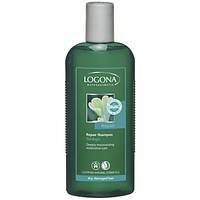 Logona Logona БИО-Шампунь восстанавливающий для сухих и поврежденных волос Гинкго Билоба (250 мл)