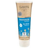 Sante Sante БИО-Паста зубная мятная с фтором для всей семьи (75 мл)