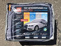 Тент чехол автомобильный Peva Дорожная Карта для седана L 483х178х120 см с флизелиновой подкладкой